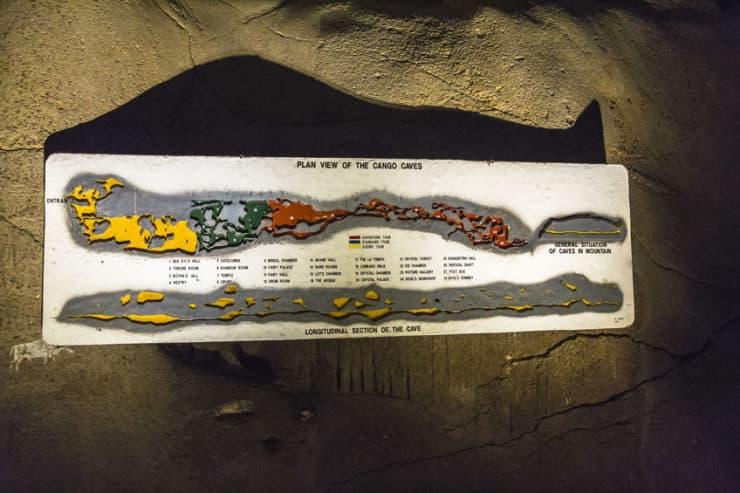 Grottes du Cango panneau