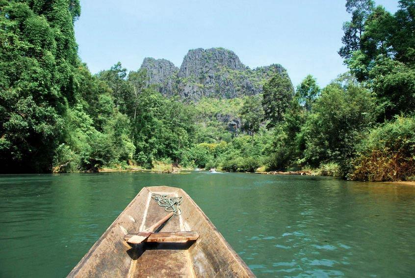 rivière Nam Hin Bun