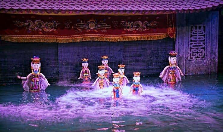 Marionnettes d'eau Vietnam