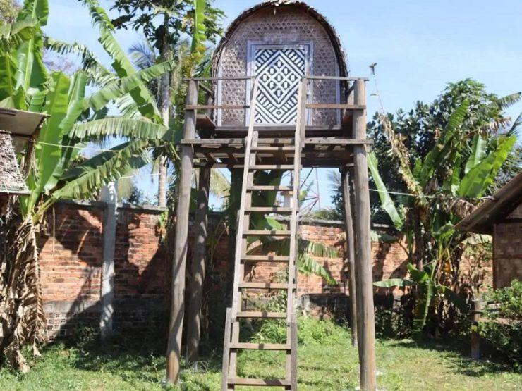 maison traditionnelle cambodge