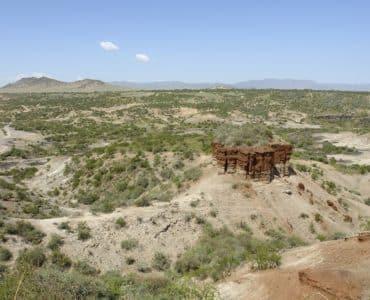 Les gorges d'Olduvai