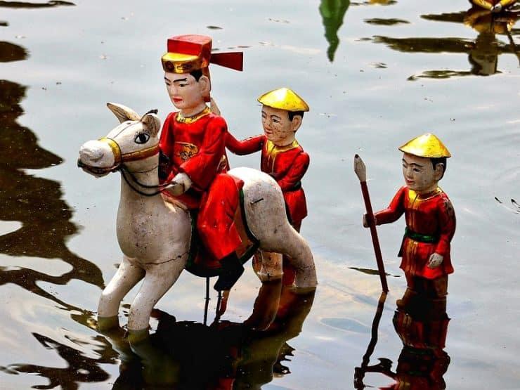 marionnettes sur l'eau vietnam