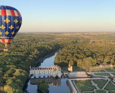montgolfière chateau loire