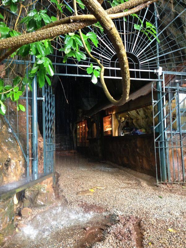 entrée Grottes de Sudwala