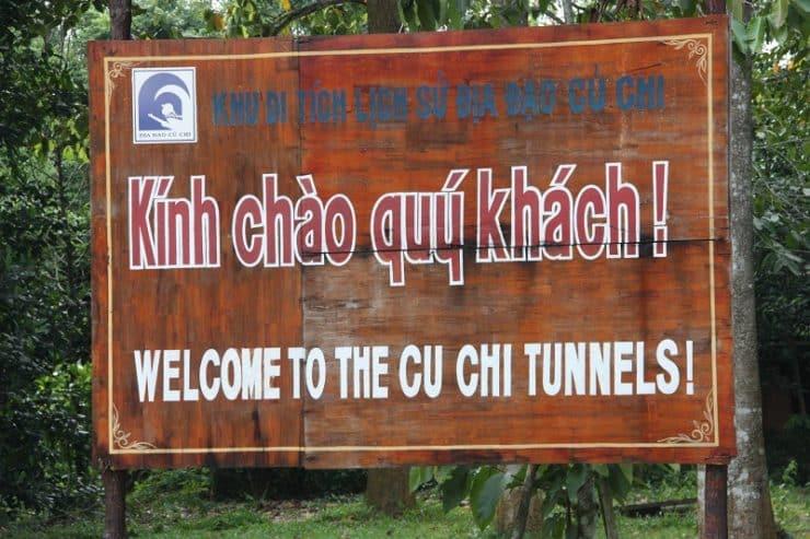 panneau tunnels cu chi