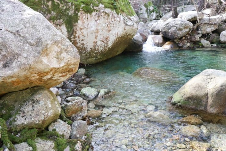 petite cascade Polischellu