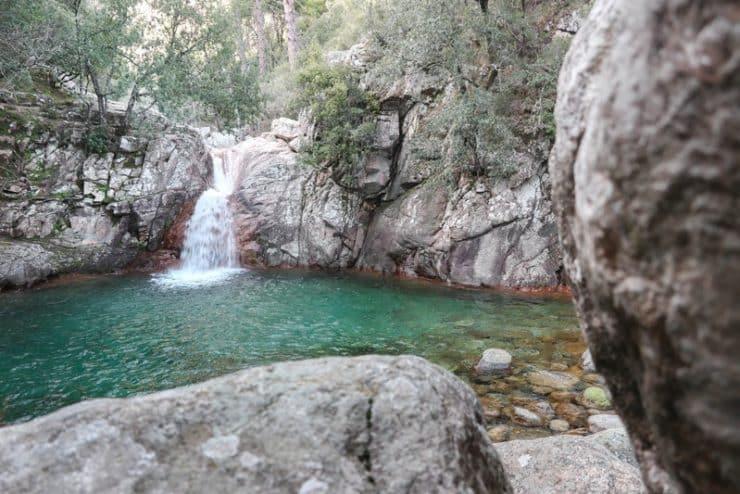 chute d'eau de Polischellu