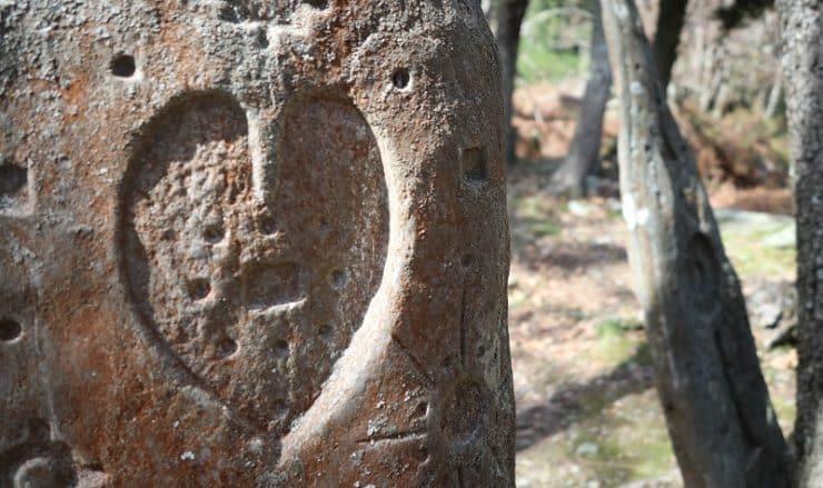 stèles gravées de Trucchinacce