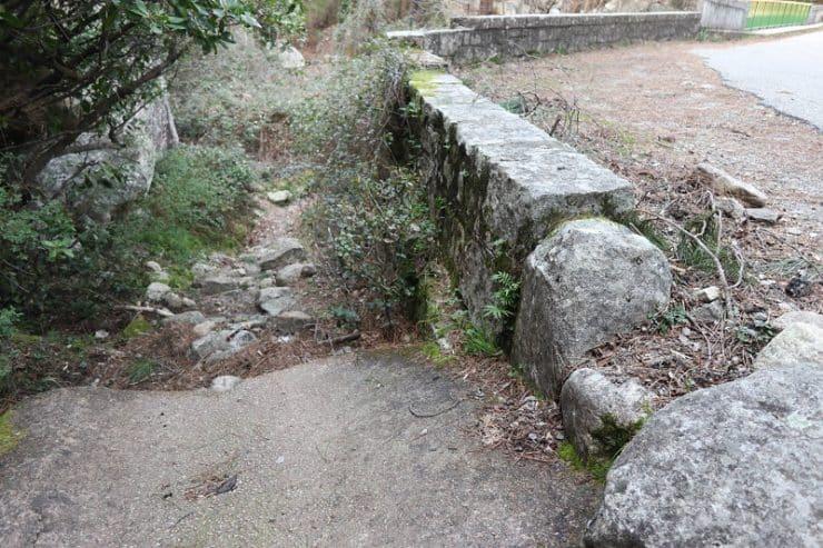 sentier cascades de Polischellu
