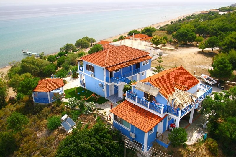 blue house apartments