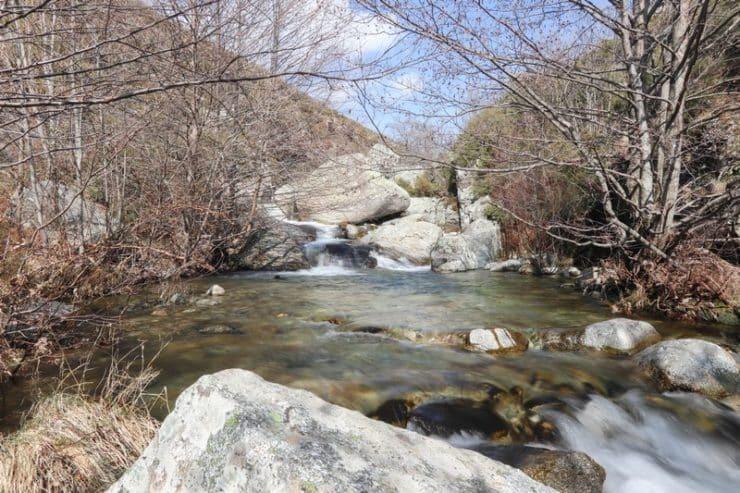 rivière chiuvone corse