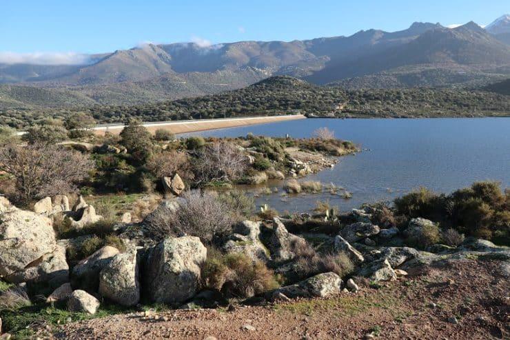 lac et barrage de codole