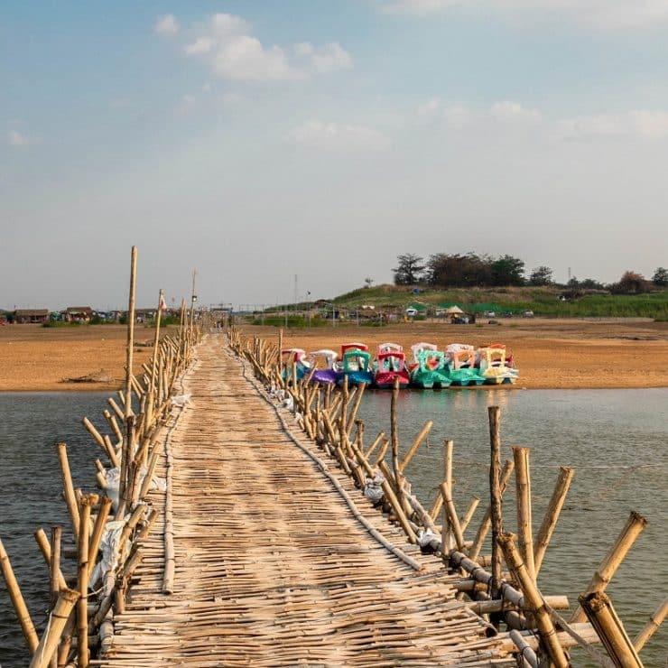 kampong cham pont de bambou