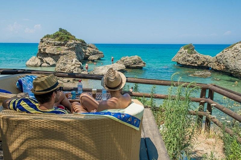 porto azzuro beach bar