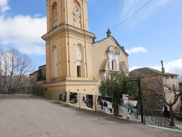 église saint sébastien silvareccio