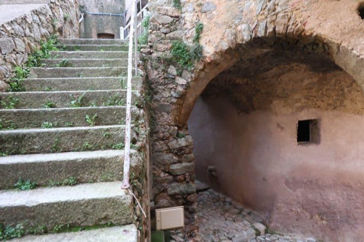 escalier speloncato