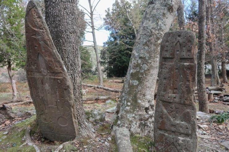 stèles gravées de casalta