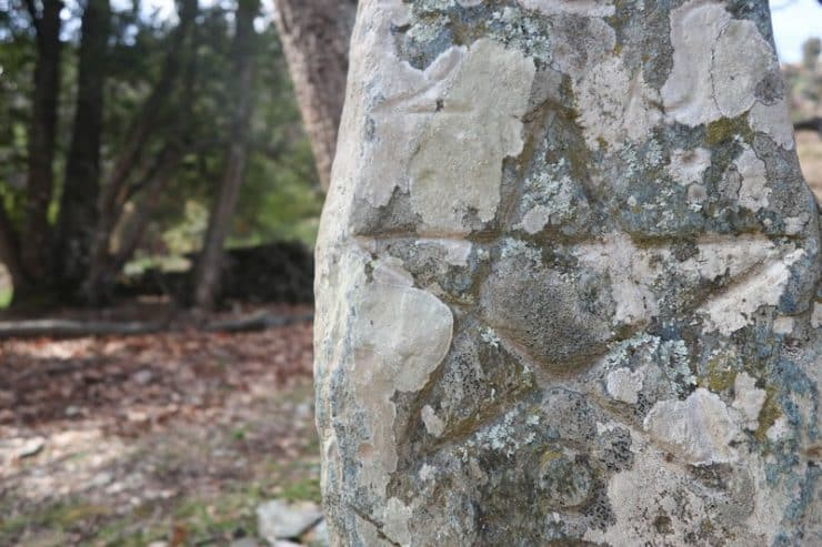 stèle gravée silvareccio