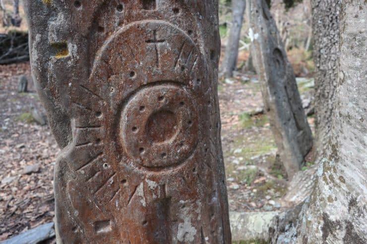 stèle gravée corse