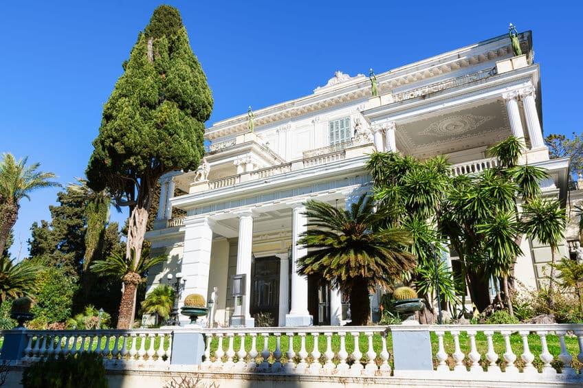 palais Achilleion corfou