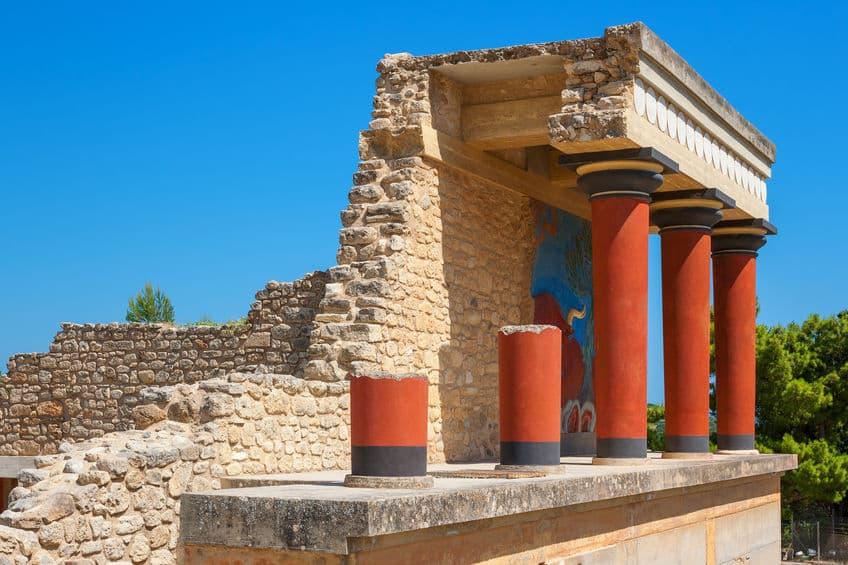 visite du palais de knossos