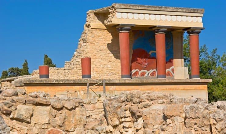 Visiter le palais de Knossos