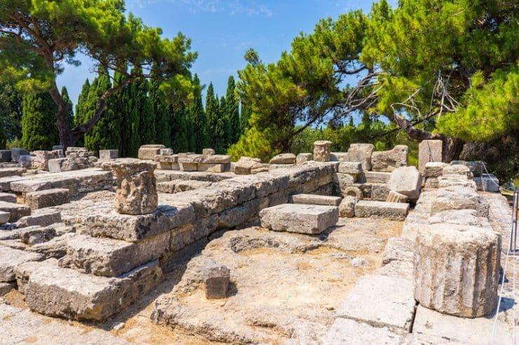 ialyssos temple d'athena