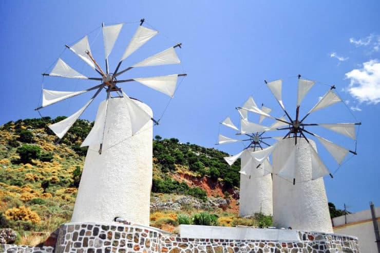 lassithi moulins à vent