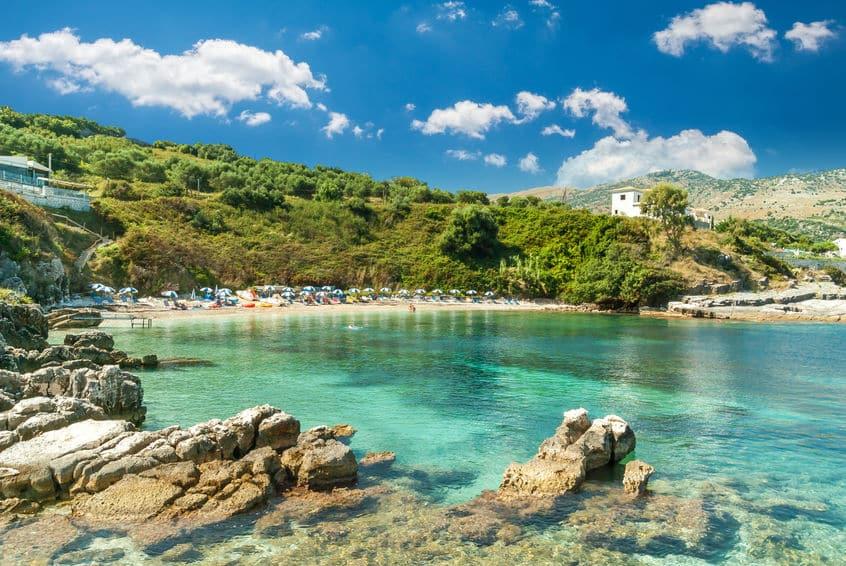 plage de Kassiopi
