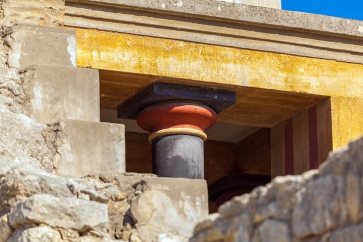pilier knossos
