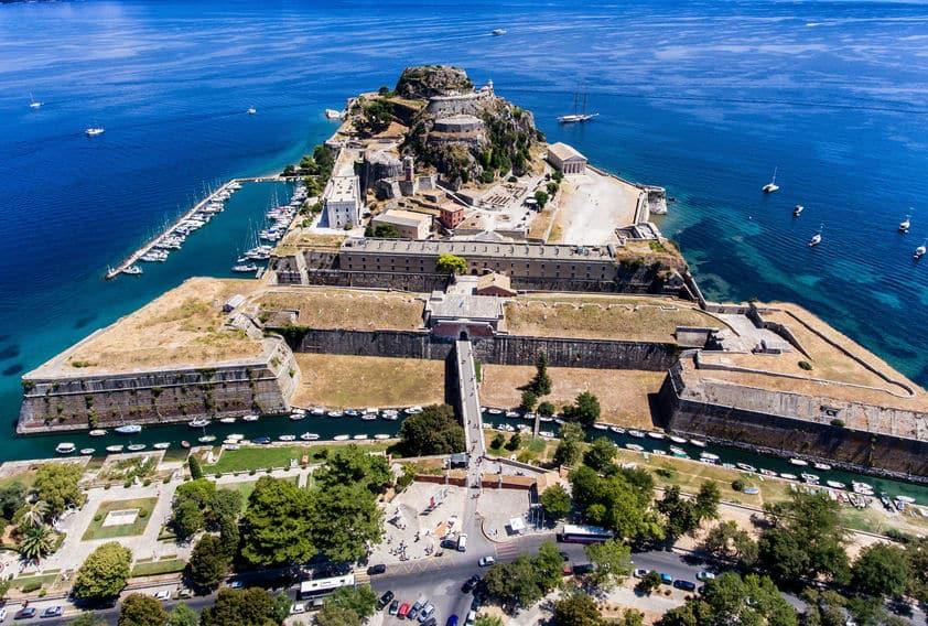 ancienne forteresse de corfou