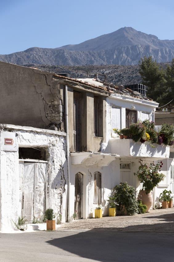 Agios Georgios maisons
