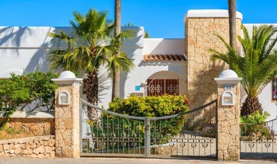villa à ibiza