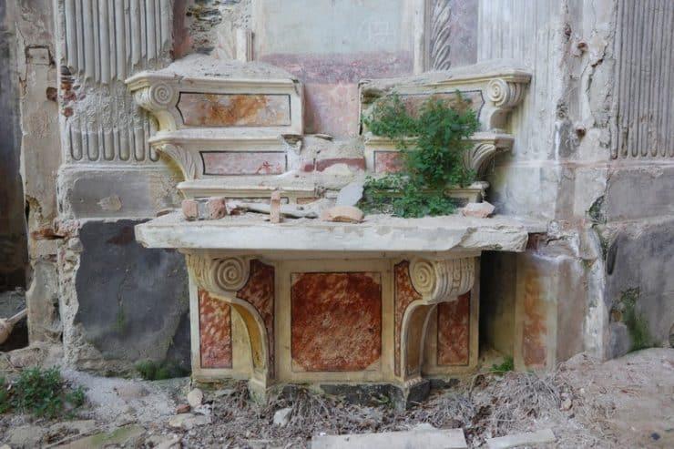 église abandonnée
