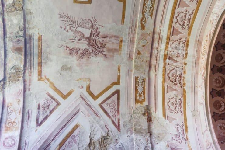 église plafond