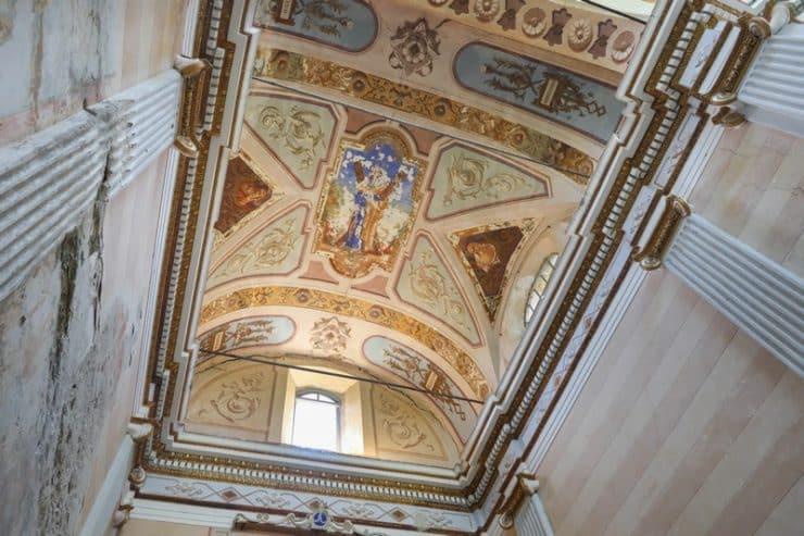 plafond église saint andré de granaggiolo
