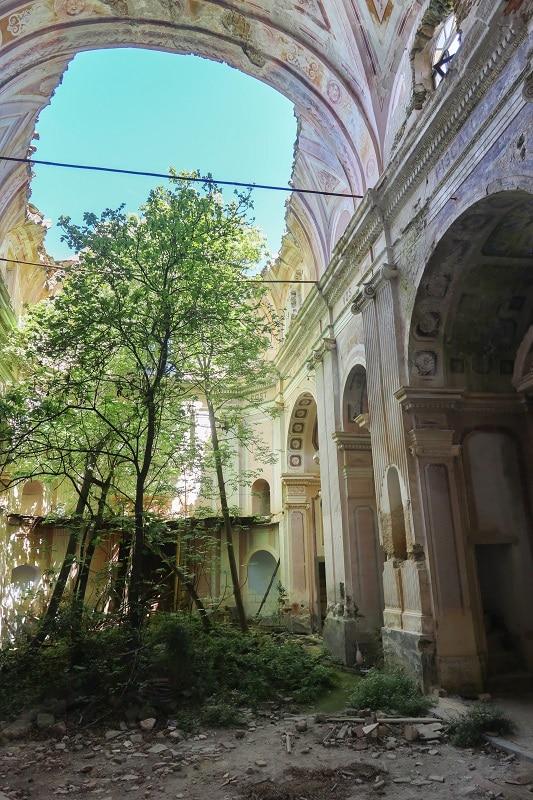 intérieur église saint andré arbre
