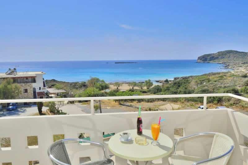 hôtel falassarna beach