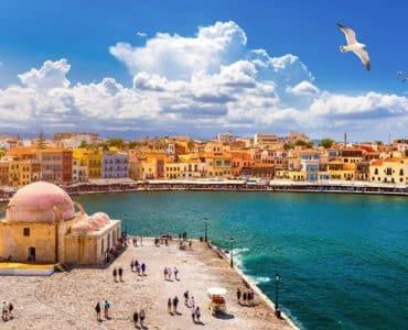 La vieille ville de La Canée et son port