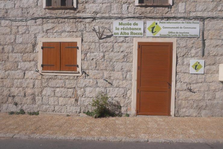 musée de la résistance zonza