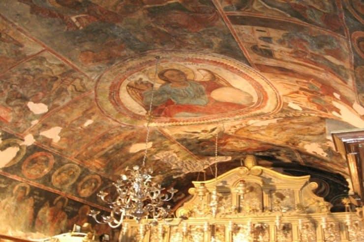 intérieur monastère pantokrator