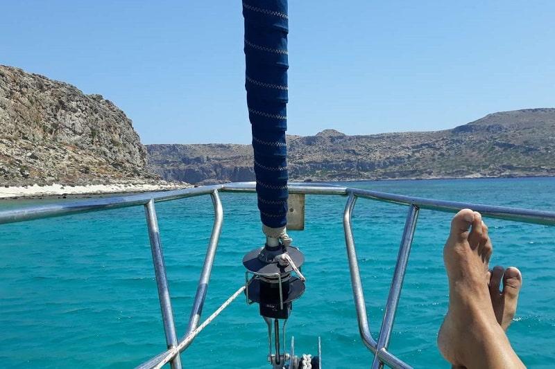 visiter la plage de balos et son lagon