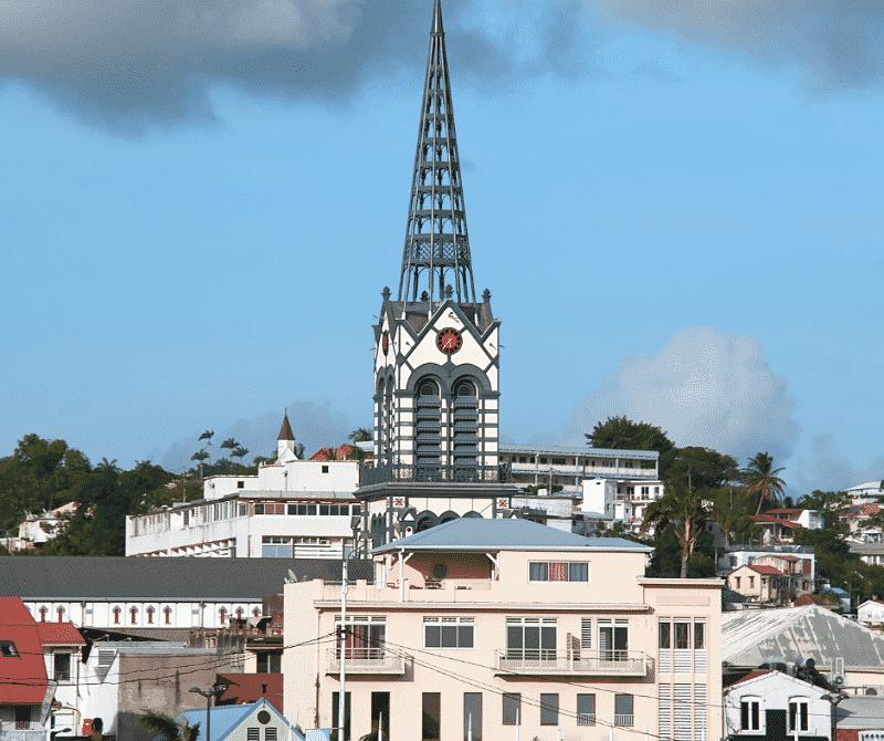 cathédrale saint louis fort de france