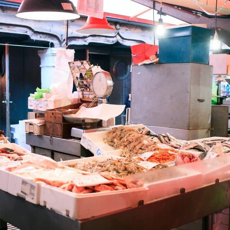 chioggia marché aux poissons
