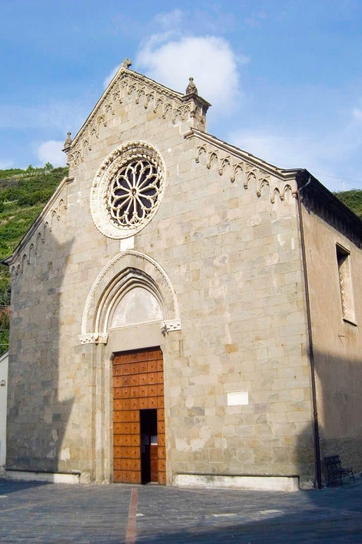 église san lorenzo manarola