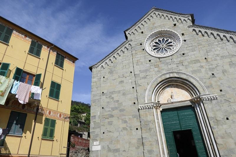 église san pietro corniglia
