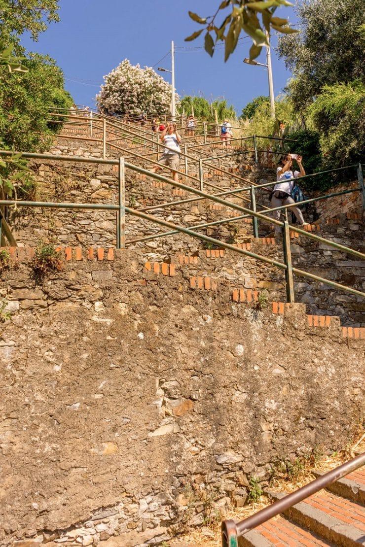 escalier corniglia