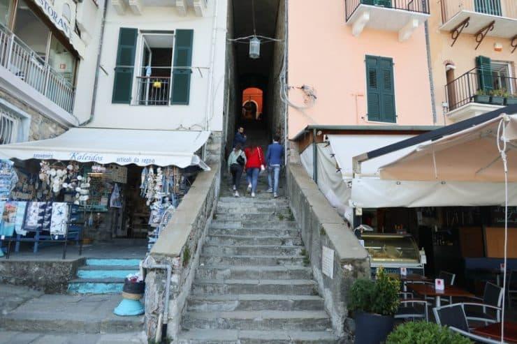 escalier porto venere