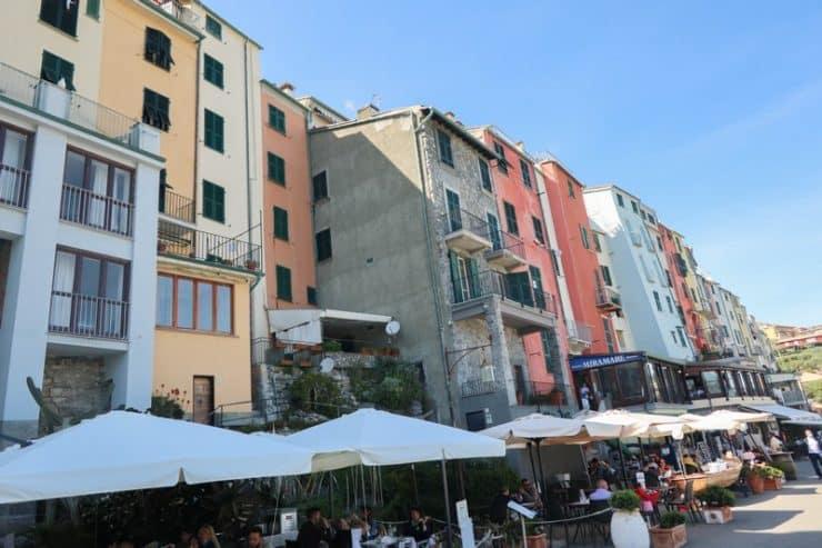 maisons colorées porto venere