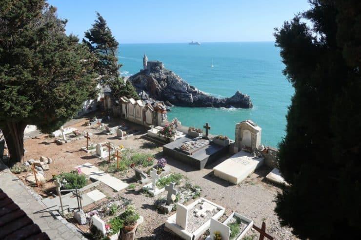 cimetière porto venere